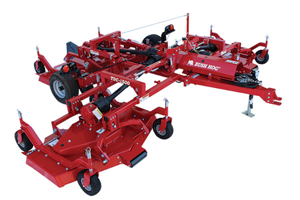 Bush Hog Landscaping Tools & | Tri-Deck Finishing Mowers | Model TDC-1200 for sale at Cisco Equipment, Texas and New Mexico
