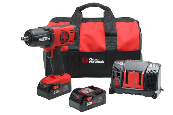 Chicago Pneumatic Power Tools & Compressors | Cordless Impact Wrenches | Model CP8849 Pack 6.0Ah US for sale at Cisco Equipment, Texas and New Mexico
