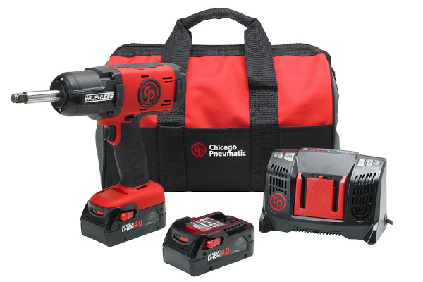 Chicago Pneumatic Power Tools & Compressors | Cordless Impact Wrenches | Model CP8849-2 Pack 4.0Ah US for sale at Cisco Equipment, Texas and New Mexico