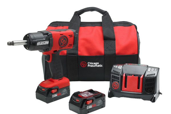 Chicago Pneumatic Power Tools & Compressors | Cordless Impact Wrenches | Model CP8849-2 Pack 6.0Ah US for sale at Cisco Equipment, Texas and New Mexico