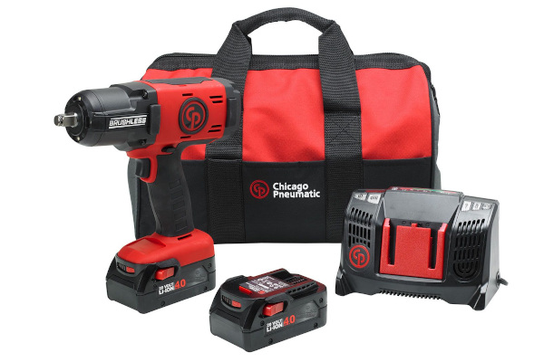 Chicago Pneumatic Power Tools & Compressors | Cordless Impact Wrenches | Model CP8849 Pack 4.0Ah US for sale at Cisco Equipment, Texas and New Mexico