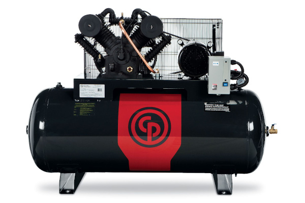 Chicago Pneumatic Power Tools & Compressors Iron Series - Two Stage Electric Simplex and Duplex Compressors 5-20 hp for sale at Cisco Equipment, Texas and New Mexico