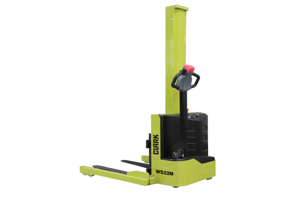 Clark Material Handling | Walkie Pallet Stacker | Model WS22M for sale at Cisco Equipment, Texas and New Mexico