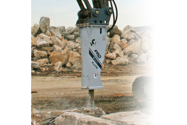 Furukawa Rock Drill USA | Breaker/Attachment Division | Large Hydraulic Breakers for sale at Cisco Equipment, Texas and New Mexico