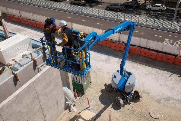 Genie Aerial Lifts & Material Handling | Aerial Lifts | Articulated Boom Lifts for sale at Cisco Equipment, Texas and New Mexico