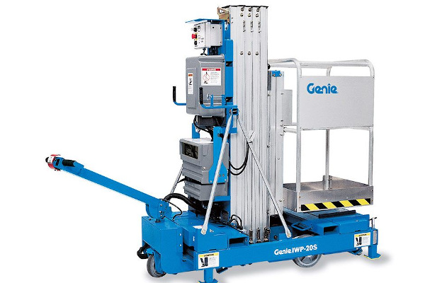 Genie Aerial Lifts & Material Handling | Aerial Work Platforms - Super Series | Model IWP®-20S for sale at Cisco Equipment, Texas and New Mexico