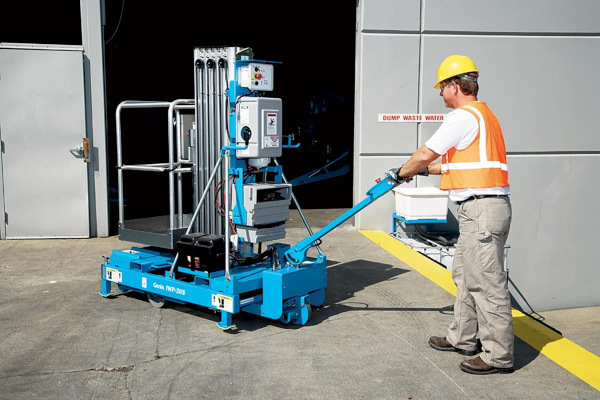 Genie Aerial Lifts & Material Handling | Aerial Work Platforms - Super Series | Model IWP®-30S for sale at Cisco Equipment, Texas and New Mexico