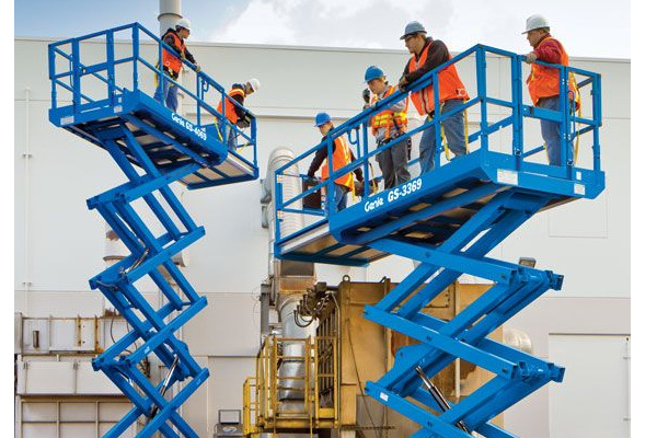 Genie Aerial Lifts & Material Handling | Aerial Lifts | Rough Terrain Scissor Lifts for sale at Cisco Equipment, Texas and New Mexico