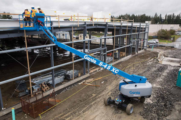 Genie Aerial Lifts & Material Handling S-40 XC™ and S-45 XC™ for sale at Cisco Equipment, Texas and New Mexico