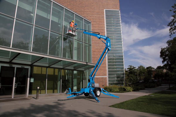 Genie Aerial Lifts & Material Handling | Trailer-Mounted Boom Lifts | Model TZ™-34/20 for sale at Cisco Equipment, Texas and New Mexico