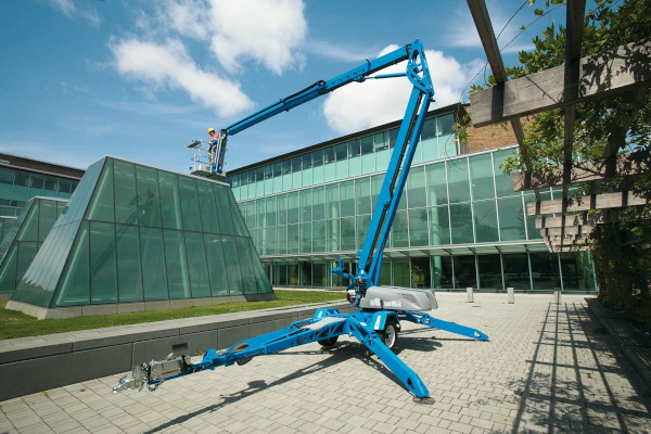 Genie Aerial Lifts & Material Handling | Trailer-Mounted Boom Lifts | Model TZ™-50 for sale at Cisco Equipment, Texas and New Mexico