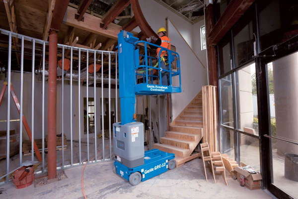 Genie Aerial Lifts & Material Handling | Aerial Lifts | Vertical Mast Lifts for sale at Cisco Equipment, Texas and New Mexico
