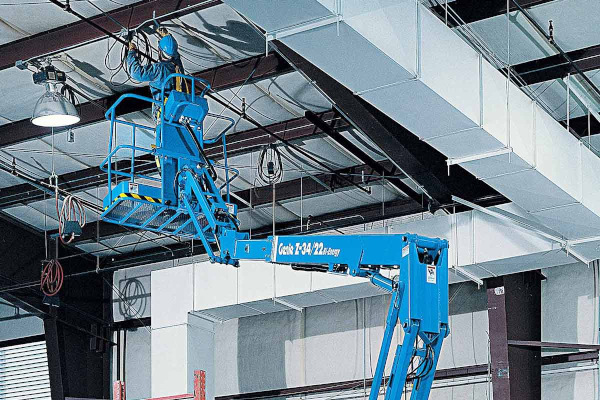 Genie Aerial Lifts & Material Handling | Electric & Bi-Energy Lifts | Model Z®-34/22 DC or Bi Energy for sale at Cisco Equipment, Texas and New Mexico
