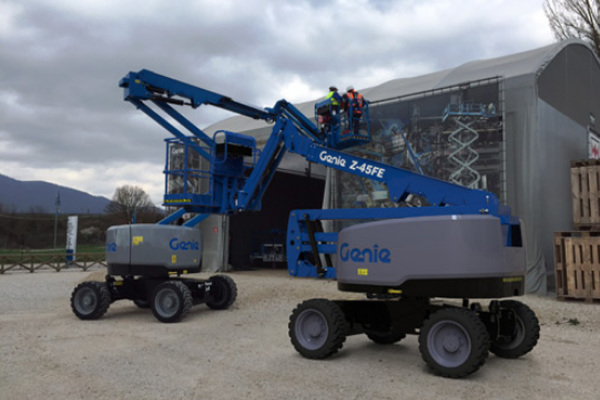 Genie Aerial Lifts & Material Handling | Electric & Bi-Energy Lifts | Model Z-45 DC and FE for sale at Cisco Equipment, Texas and New Mexico