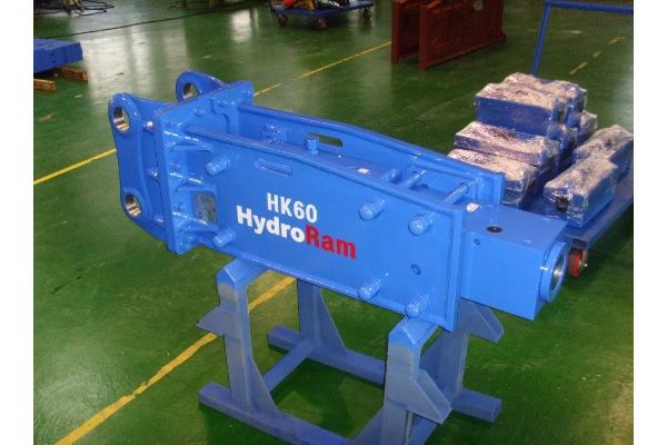HydroRam Hydraulic Breakers | Small Class Hydraulic Hammers | Model HK60 for sale at Cisco Equipment, Texas and New Mexico