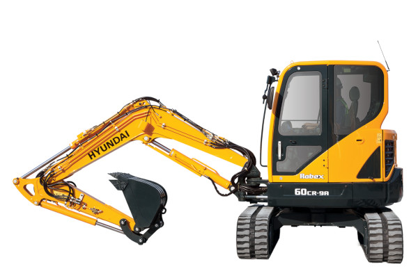 Hyundai | Compact Excavators | Model R60CR-9A for sale at Cisco Equipment, Texas and New Mexico