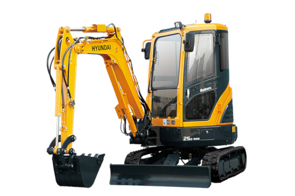 Hyundai | Compact Excavators | Model R25Z-9AK for sale at Cisco Equipment, Texas and New Mexico