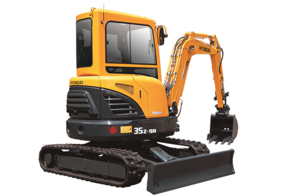 Hyundai | Compact Excavators | Model R35Z-9A for sale at Cisco Equipment, Texas and New Mexico