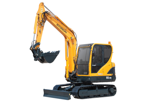 Hyundai | Compact Excavators | Model R55-9A for sale at Cisco Equipment, Texas and New Mexico