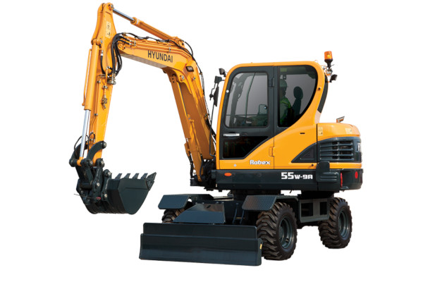 Hyundai R55W-9A for sale at Cisco Equipment, Texas and New Mexico