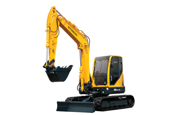 Hyundai | Compact Excavators | Model R80CR-9A for sale at Cisco Equipment, Texas and New Mexico