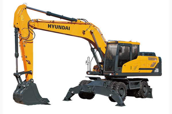 Hyundai | Excavators | Wheeled Excavators for sale at Cisco Equipment, Texas and New Mexico