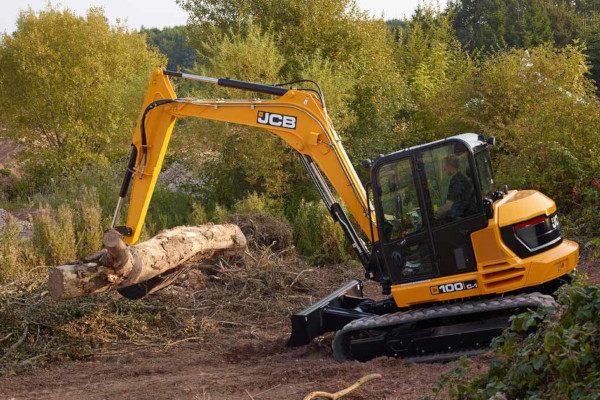 JCB | Compact & Mini Excavators | Model 100C-1 for sale at Cisco Equipment, Texas and New Mexico