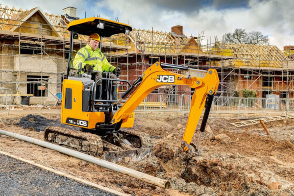 JCB | Compact & Mini Excavators | Model 18Z-1 for sale at Cisco Equipment, Texas and New Mexico