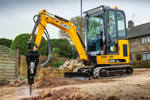 JCB | Compact & Mini Excavators | Model 19C-1 for sale at Cisco Equipment, Texas and New Mexico