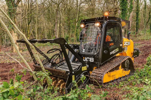 JCB | Compact Track Loaders | Model 325T ForestMaster for sale at Cisco Equipment, Texas and New Mexico