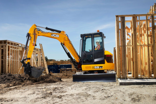 JCB | Compact & Mini Excavators | Model 55Z-1 for sale at Cisco Equipment, Texas and New Mexico