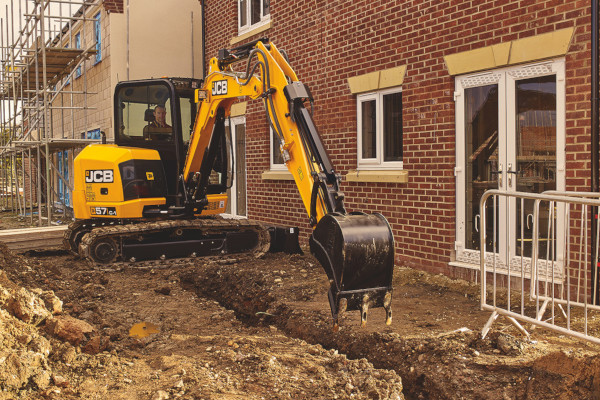 JCB | Compact & Mini Excavators | Model 57C-1 for sale at Cisco Equipment, Texas and New Mexico