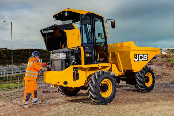JCB | Site Dumpers | Model 6T-1 SITE DUMPERS for sale at Cisco Equipment, Texas and New Mexico