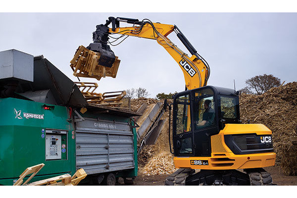 JCB | Compact & Mini Excavators | Model 86C-1 for sale at Cisco Equipment, Texas and New Mexico