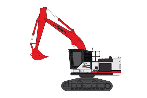 Link-Belt Excavators | 40 Series | Model 3240 RB for sale at Cisco Equipment, Texas and New Mexico