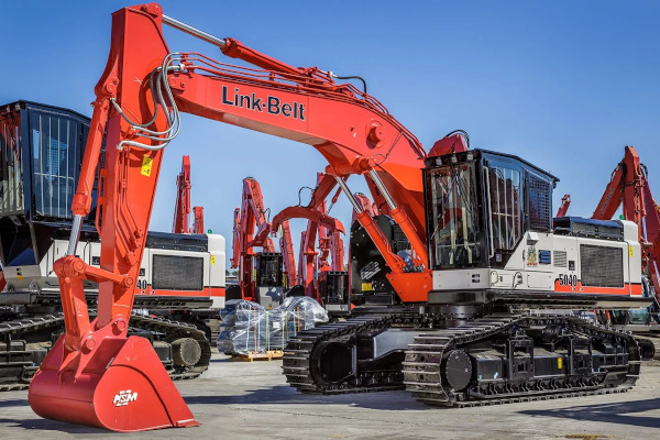 Link-Belt Excavators | 40 Series | Model 5040 RB for sale at Cisco Equipment, Texas and New Mexico