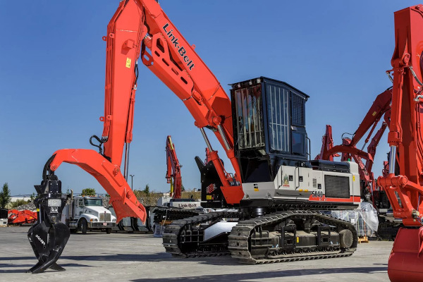 Link-Belt Excavators | 40 Series | Model 5040 TL for sale at Cisco Equipment, Texas and New Mexico