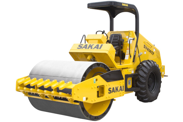 Sakai Rollers | Soil Rollers | 414 Series for sale at Cisco Equipment, Texas and New Mexico