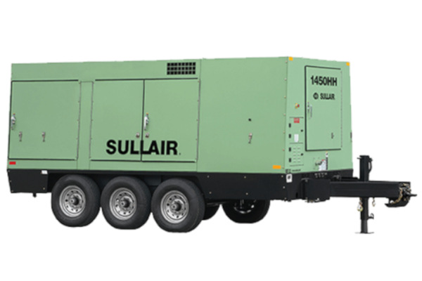 Sullair Compressed Air Solutions 1450HH Portable Air Compressor for sale at Cisco Equipment, Texas and New Mexico