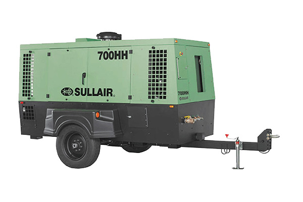 Sullair Compressed Air Solutions 700HH Portable Air Compressor for sale at Cisco Equipment, Texas and New Mexico