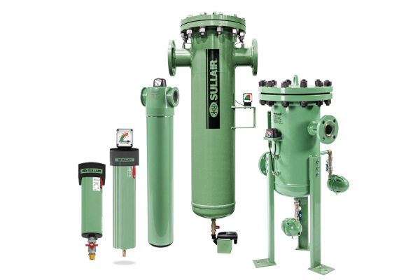 Sullair Compressed Air Solutions Sullair Filtration & Mist Elimination for sale at Cisco Equipment, Texas and New Mexico