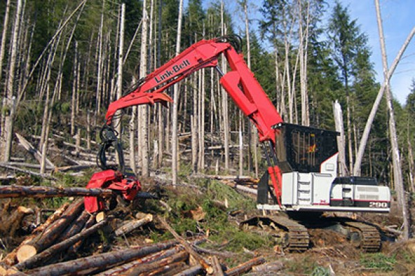 Link-Belt Excavators | X2 Forestry Series | Model 290 X2 Forestry for sale at Cisco Equipment, Texas and New Mexico