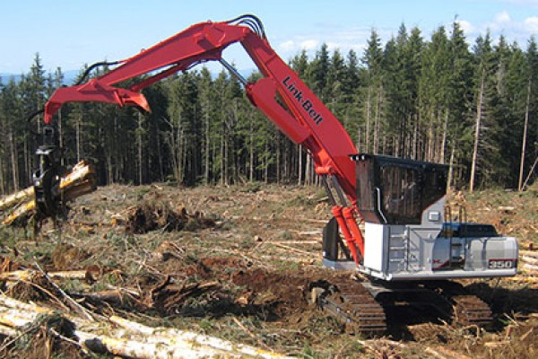 Link-Belt Excavators | X2 Forestry Series | Model 350 X2 Forestry for sale at Cisco Equipment, Texas and New Mexico