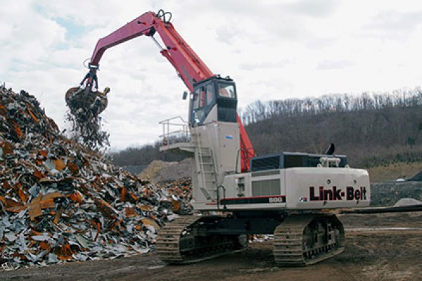 Link-Belt Excavators | Material Handlers | Model 800 X2 MH for sale at Cisco Equipment, Texas and New Mexico