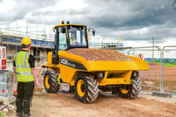 JCB | Site Dumpers | Model 7T-1 HI-VIZ SITE DUMPER for sale at Cisco Equipment, Texas and New Mexico