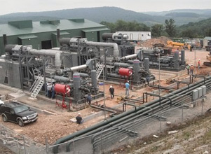 World Wide Experience - Compressor Stations/Facility